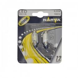 BEC CU LED 6000K 12V 0.35W SV8.5-36 (blister) NARVA